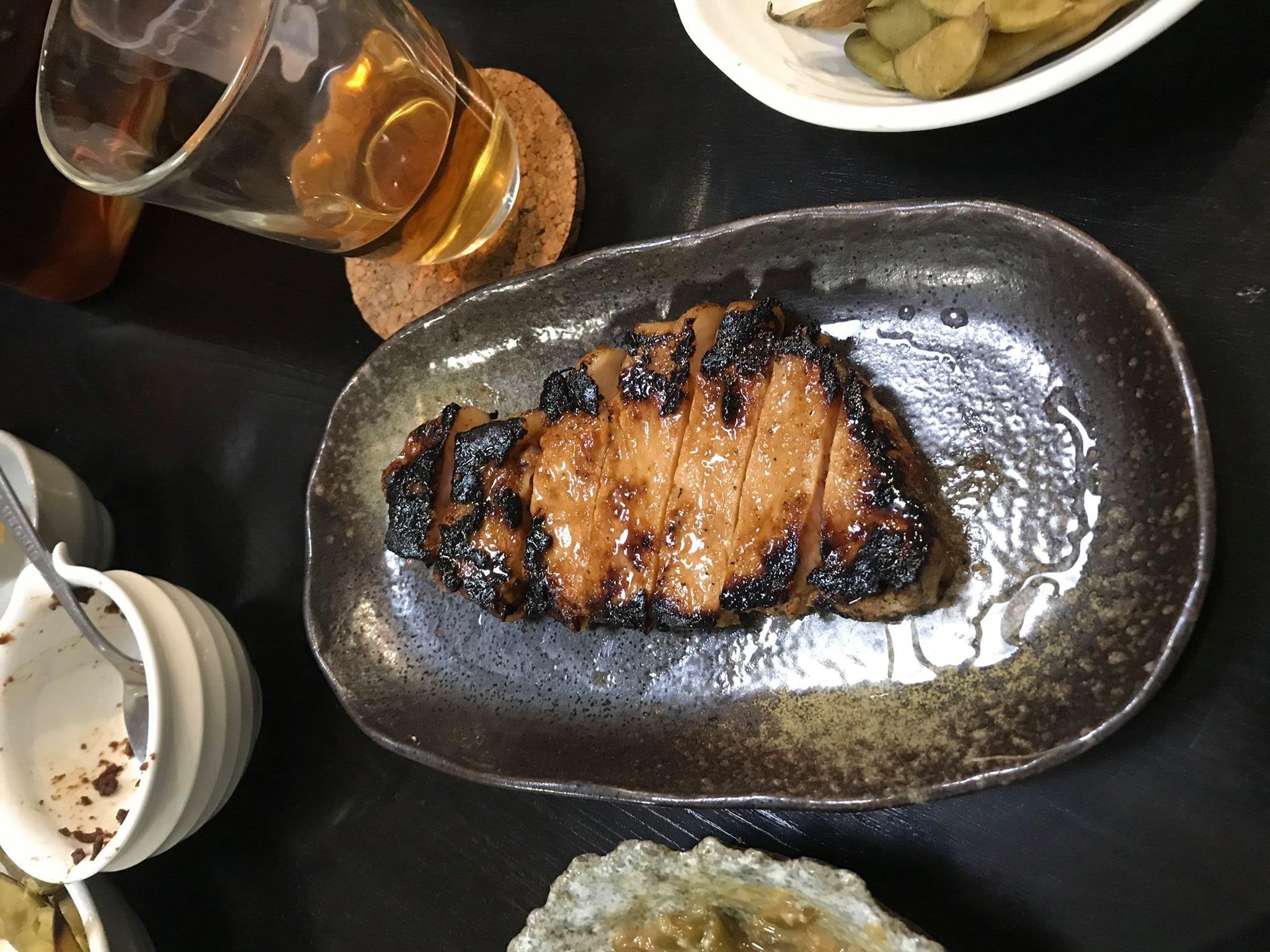 豚ロース肉の味噌漬け